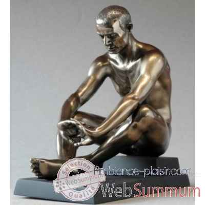Body talk man sitting 16cm Parastone -WU75423