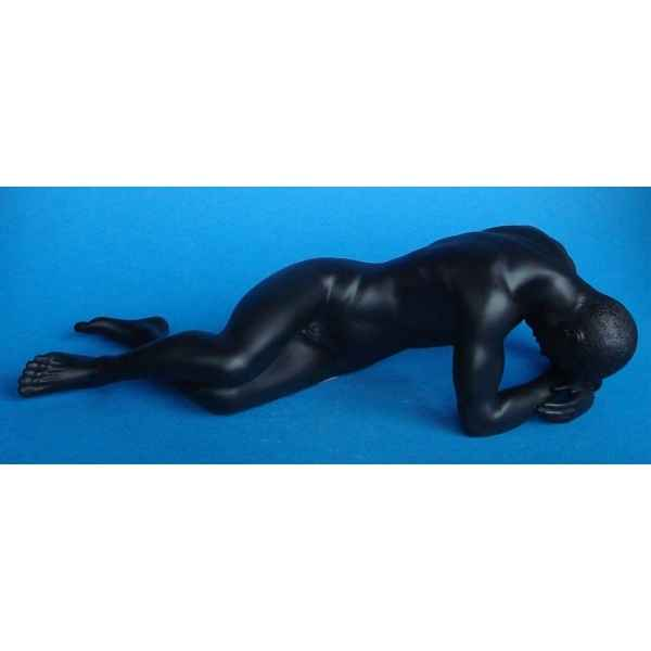 Figurine body talk -homme crowl head down black - bt28