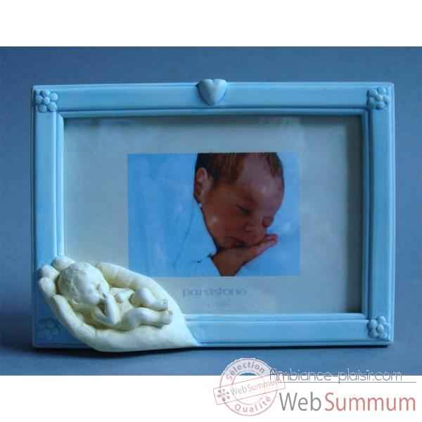 Figurine emotion - emo photoframe emotion blue  - em024