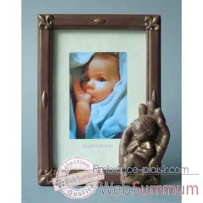 Figurine emotion - emo photoframe emotion bronze  - em021