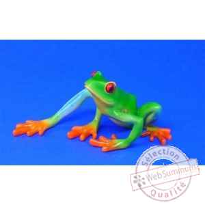 Figurine grenouille - red-eyed tree frog - bf01