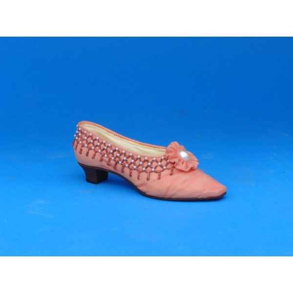 Figurine chaussure miniature collection just the right shoe 1863 - tassels - rs25090