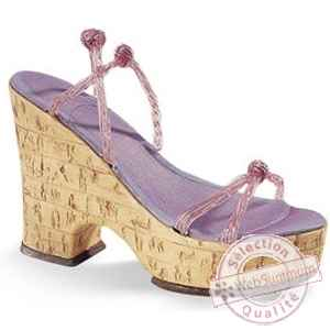 Figurine chaussure miniature collection just the right shoe 1970 - cork wedge - rs25093