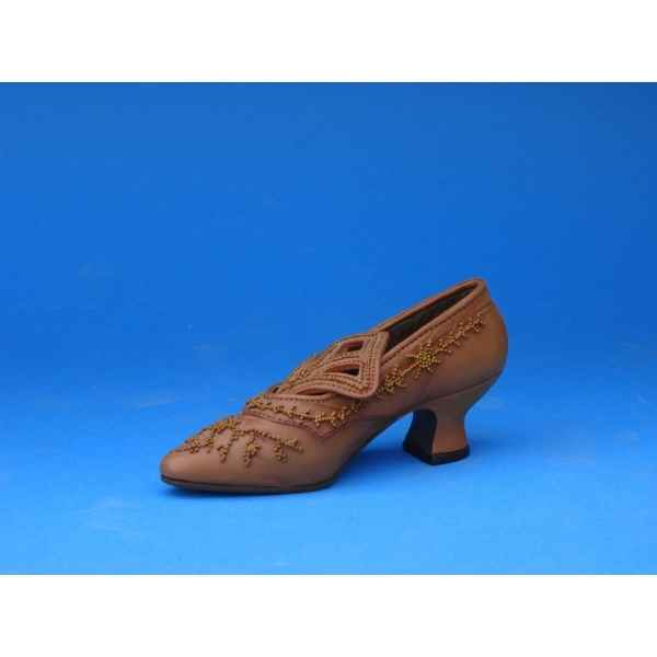 Figurine chaussure miniature collection just the right shoe courtly riches  - rs25040