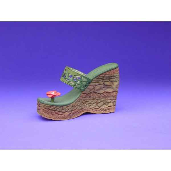 Figurine chaussure miniature collection just the right shoe earth  - rs25178