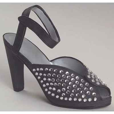 Figurine chaussure miniature collection just the right shoe pave  - rs25004
