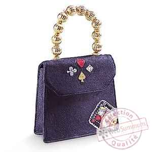 Figurine chaussure miniature collection just the right shoe queen of hearts  handbag  - rs25326