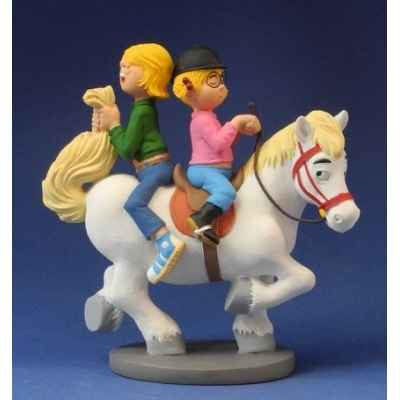 Figurine le poney et les enfants de jan, jans en de kinderen -JJ20
