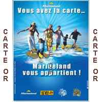 Marineland (06 Antibes) - Pass OR Famille Annuel