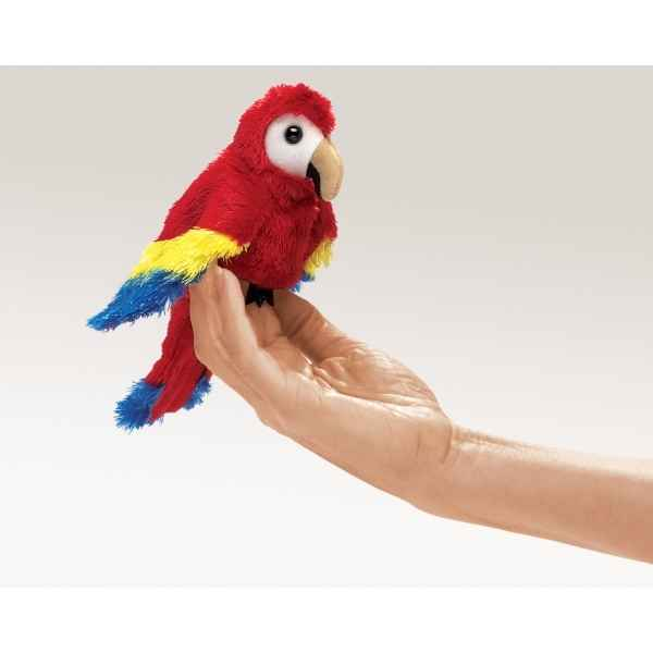 Perroquet Macaw Folkmanis 2723