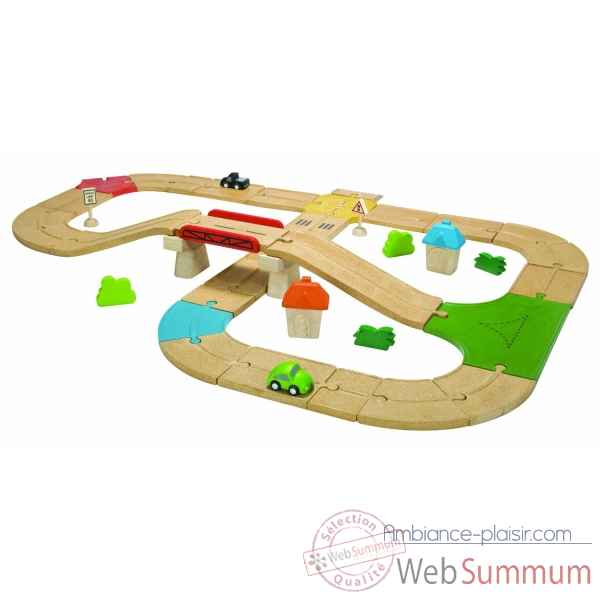 Circuit routes Plan Toys -6607