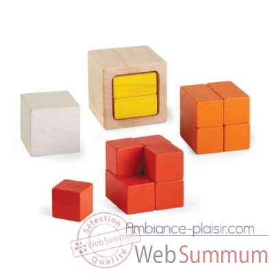 Cubes fraction Plan Toys -5369