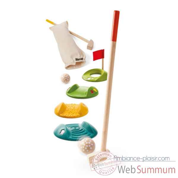 Mini golf double Plan Toys -5683