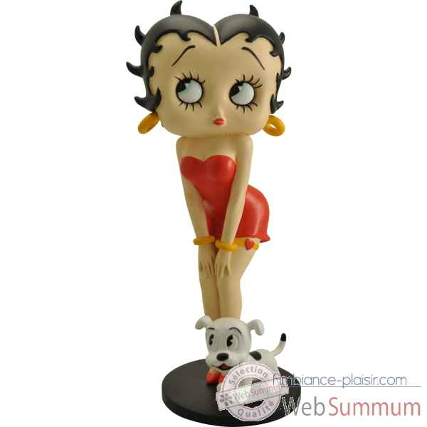 Betty boop et son chien collection betty boop -332