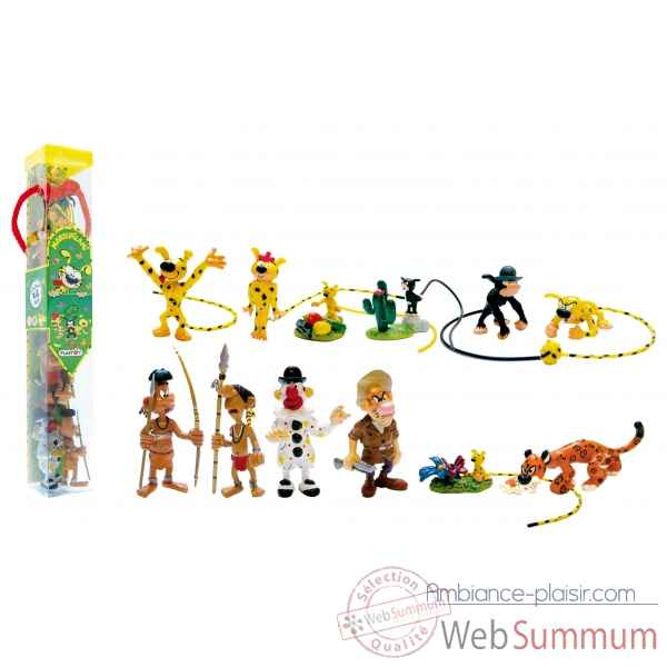 Collection les tubos tubo marsupilami 12 Figurine Plastoy 70358