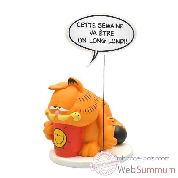 Figurine de collection bulle :garfield collections garfield Plastoy -240