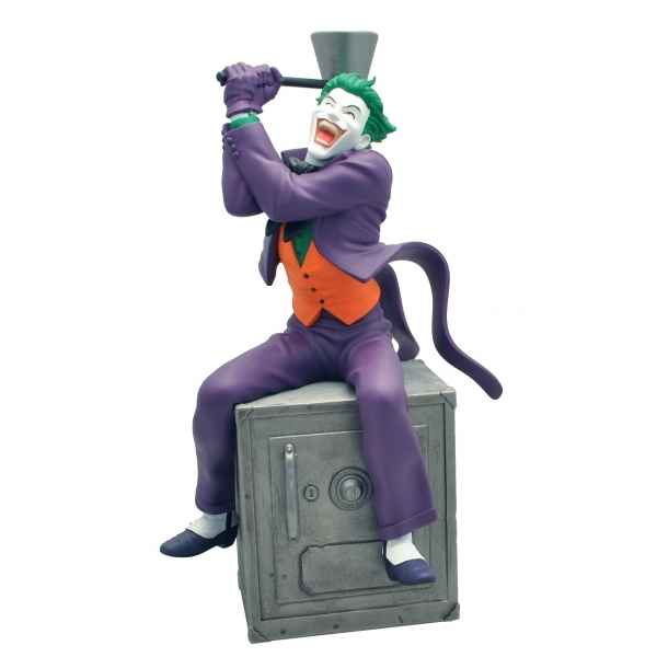 Tirelire figurine de collection the joker sur coffre-fort -80059