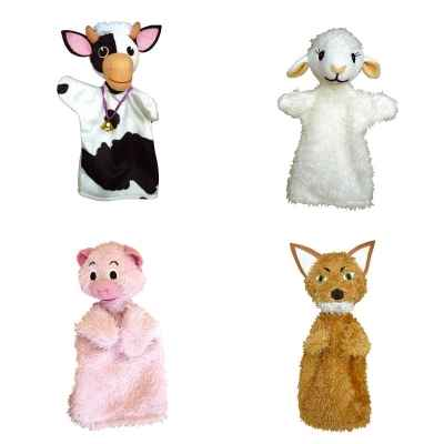 Promotion Marionnette animaux Anima Scena -LWS-61