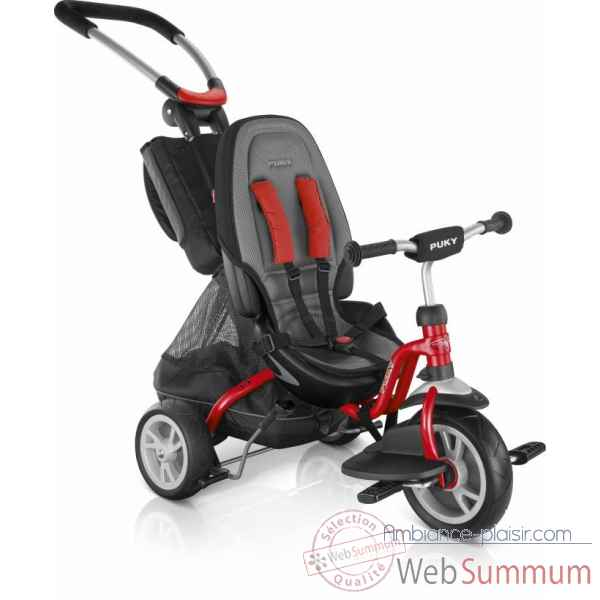 Tricycle ceety 2x1 rouge Puky -2413