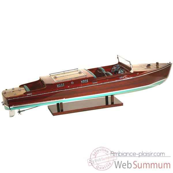 Maquette Runabout Américain-Craft-Collection Riva - R-CRAFT50
