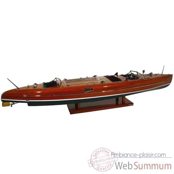Maquette Runabout Américain-Typhoon- Collection Riva - RTYPH92