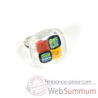 Bague collection evergreen v7 Rozetta -V7 Ga