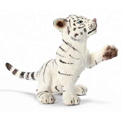 schleich-14385-Bebe Tigre blanc, jouant