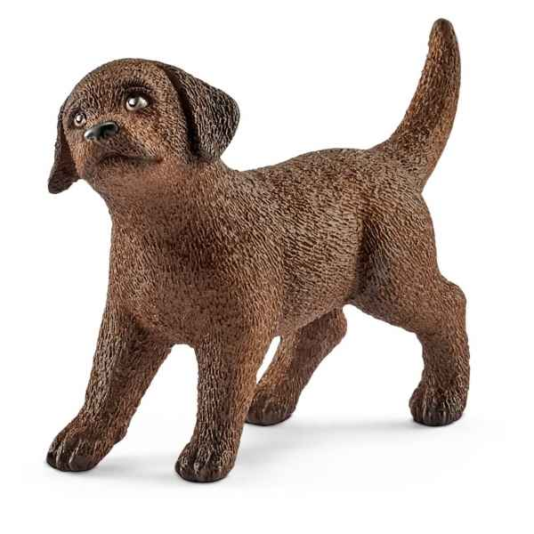 Figurine chiot labrador retriever schleich -13835