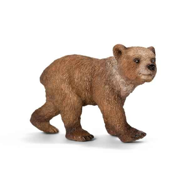 Jeune ours grizzly schleich -14687