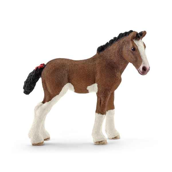 Poulain clydesdale schleich -13810