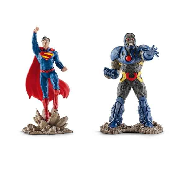 Scenery pack superman vs darkseid schleich -22509