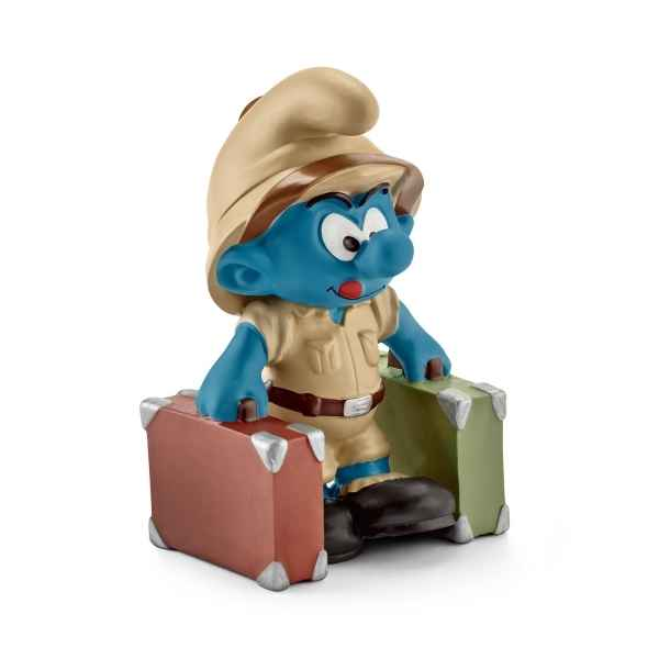 Schtroumpf de la jungle, explorateur schleich -20780