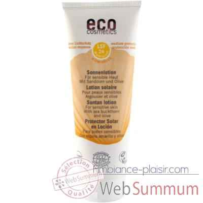 Soin Lotion solaire Sonnenlotion LSF 24 Eco Cosmetics -742016