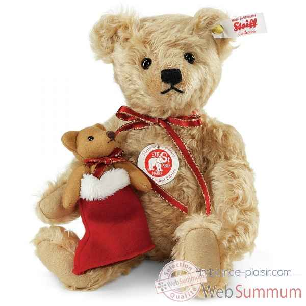 Ours lenard teddy bear, light beige STEIFF -021343