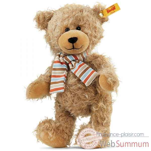 Ours nils teddy bear, marron clair STEIFF -026829