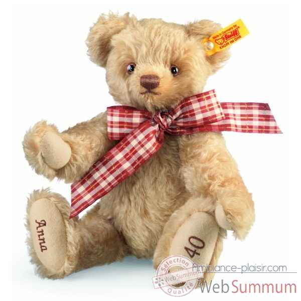 Ours teddy celebration, blond STEIFF -001772