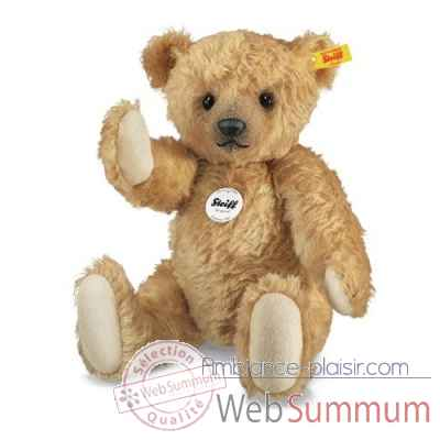 Ours teddy classique 1906, rouge blond STEIFF -000102