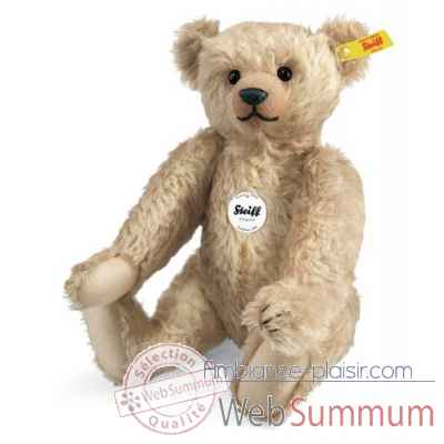 Ours teddy classique 1909, vanille STEIFF -000140