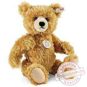 Ours teddy paddy, brun dore STEIFF -021015