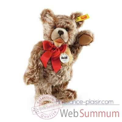 Ours teddy zotty, caramel chine STEIFF -009181