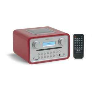 poste radio lecteur cd dab fm sorties casque et mp3 rouge tangent de hifi. Black Bedroom Furniture Sets. Home Design Ideas