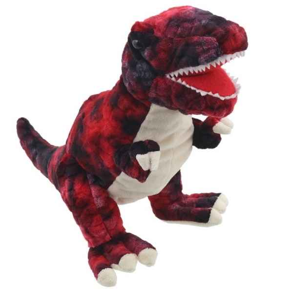 Bebe dinosaure t-rex rouge the puppet company -PC002906