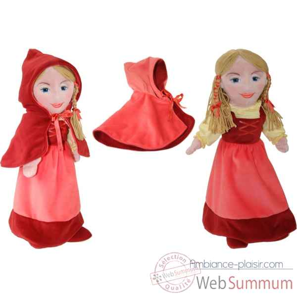 Marionnette fille - chaperon rouge The Puppet Company -PC008414