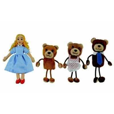 Boucle d\\\'or et les 3 ours The Puppet Company -PC007902