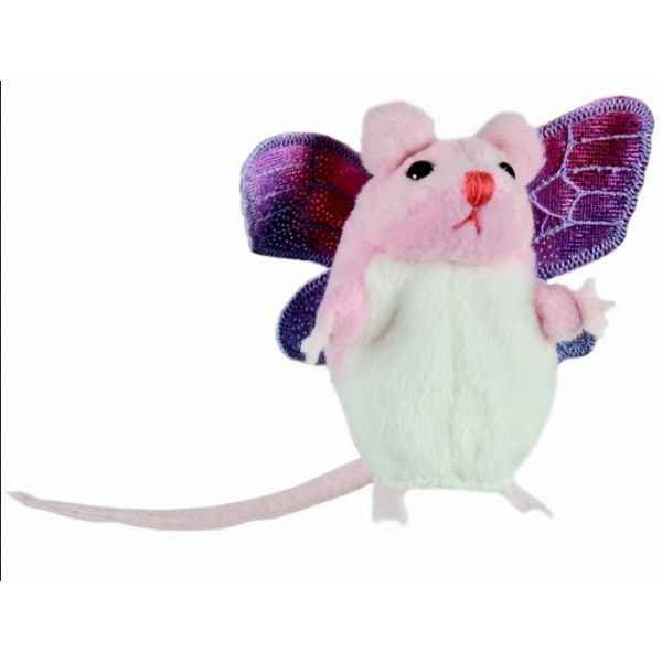Souris (pink with wings) The Puppet Company -PC002129