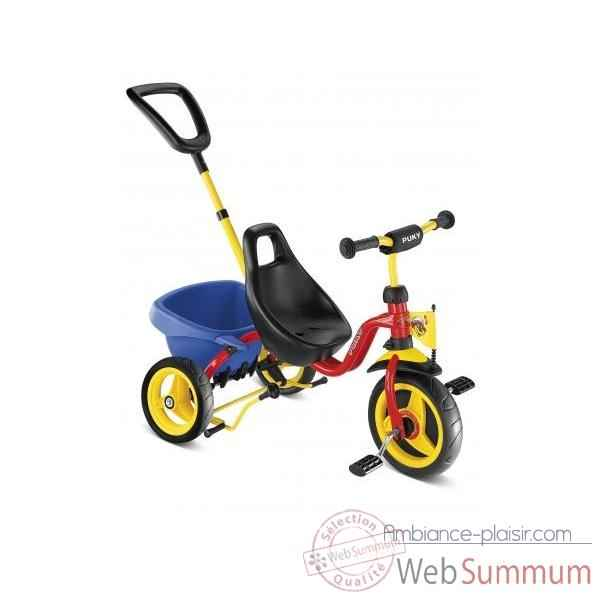 Tricycle Puky Cat1s Rouge -2324