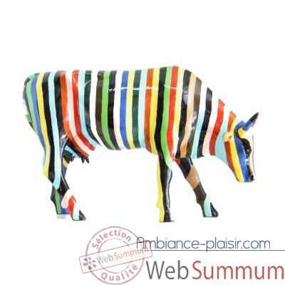 Cow Parade -New York 2000, Artiste Cary smith - Striped-20112