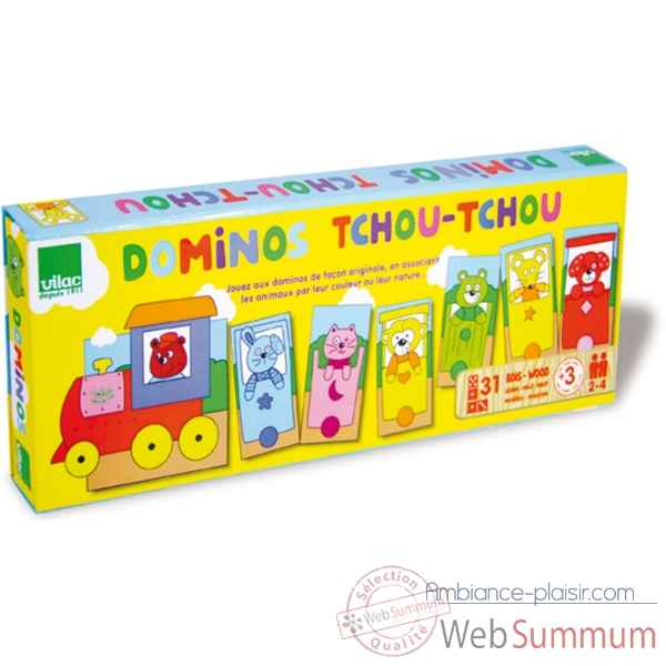 Dominos tchou-tchou le train vilac -6011