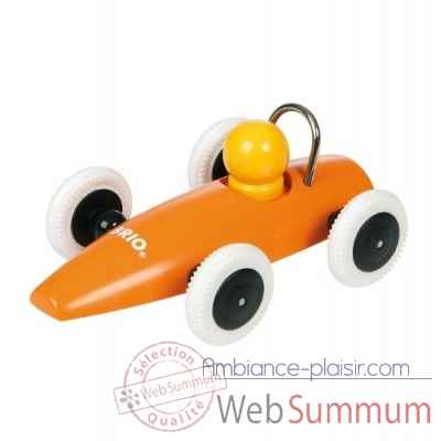 Voiture de course orange Brio 30077orange